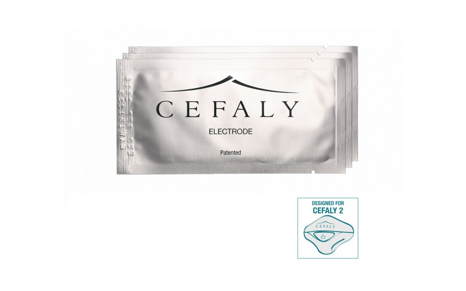 Kit of 3 Cefaly electrodes